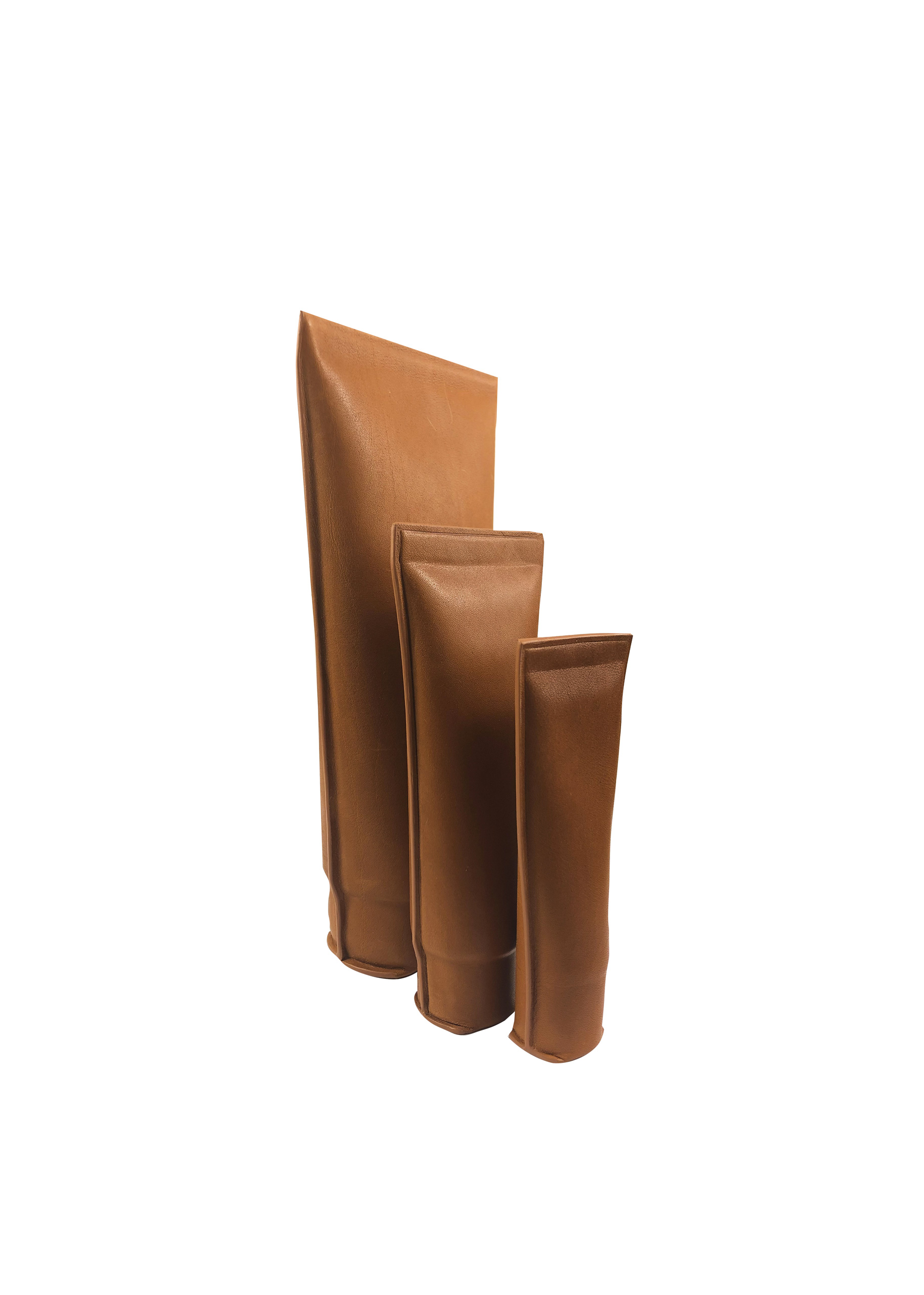 handmade leather tube